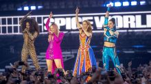 Spice Girls wash out at latest gig - Baby Spice renamed Drenched Spice