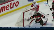 Johan Franzen nets hat trick against Senators