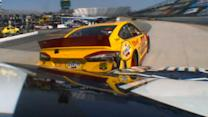 Johnson and Logano Make Contact In Final Practice
