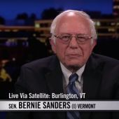 Bernie Sanders Skirts Question About a Second Presidential Bid on 'Real Time With Bill Maher'