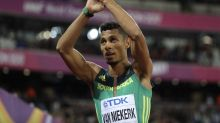 Olympic champ van Niekerk back after more than 2 years out