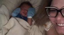 Marilia se emociona no 'mesversário' de Léo: 'Nasci quando você nasceu'