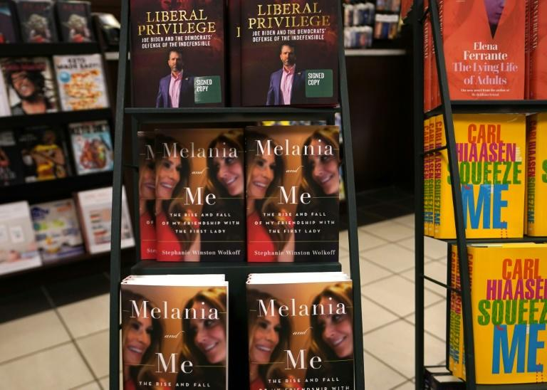 """The book """"Melania and Me: The Rise and Fall of My Friendship with the First Lady"""" by Stephanie Winston Wolkoff was released in September 2020, two months before the presidential vote"""