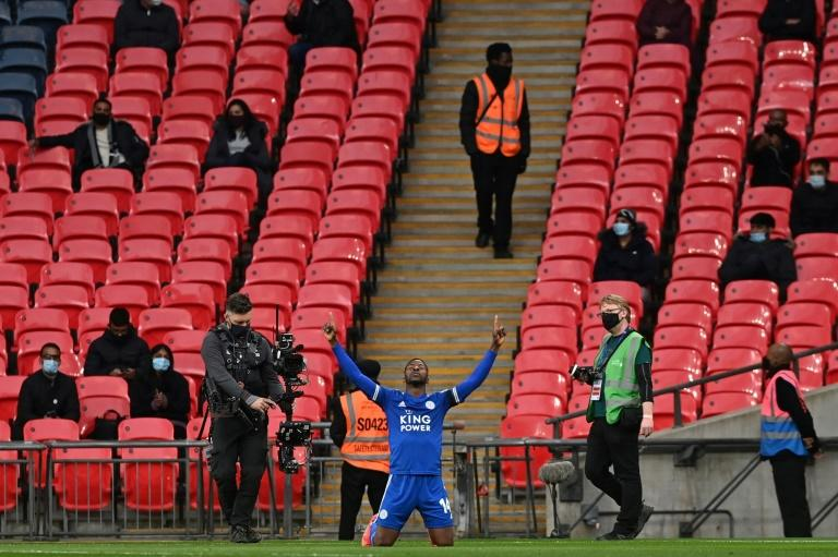 Iheanacho fired Leicester to the FA Cup final upon the return of the fans