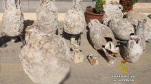 Recuperan unas 100 piezas expoliadas de yacimientos marinos de Formentera
