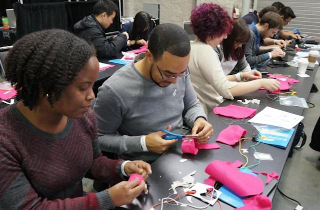 Even you can build your own social wearable