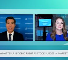 Tesla Stock Outlook As Electric Car Leader Surges In Market Rally