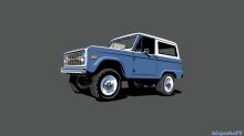 Blipshift has this awesome Bronco shirt available only until midnight