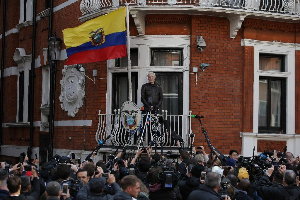 Wikileaks founder Julian Assange sought refuge at the Ecuadorian embassy in London in 2012