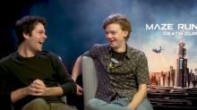 'The Death Cure' interview: Dylan O'Brien says Thomas Brodie-Sangster ditched him at an airport (exclusive)