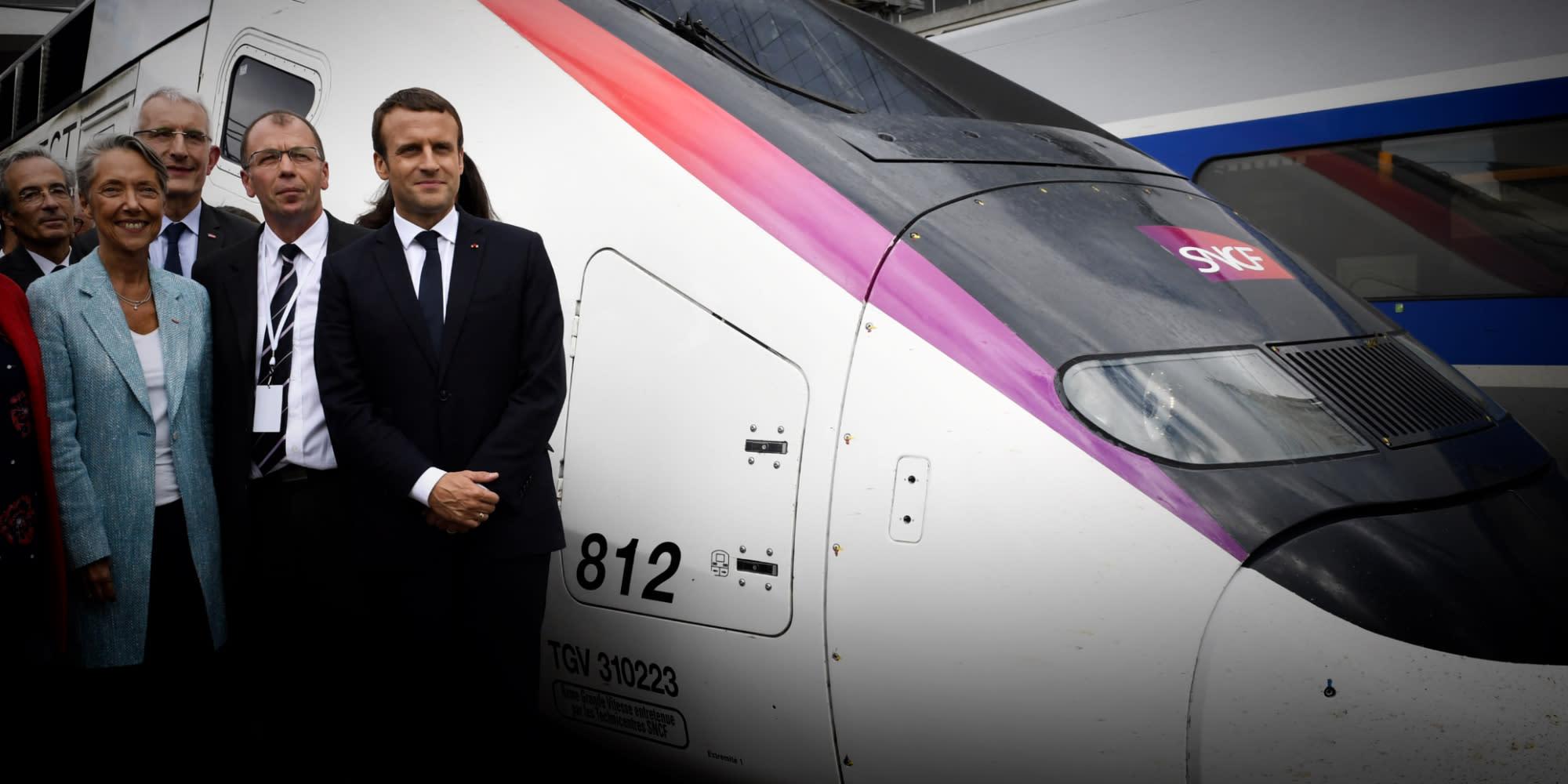 Pourquoi Emmanuel Macron vient souffler les 40 bougies du TGV