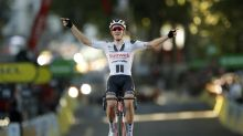Peter Sagan cuts Sam Bennett's lead but Soren Kragh Andersen wins stage 14