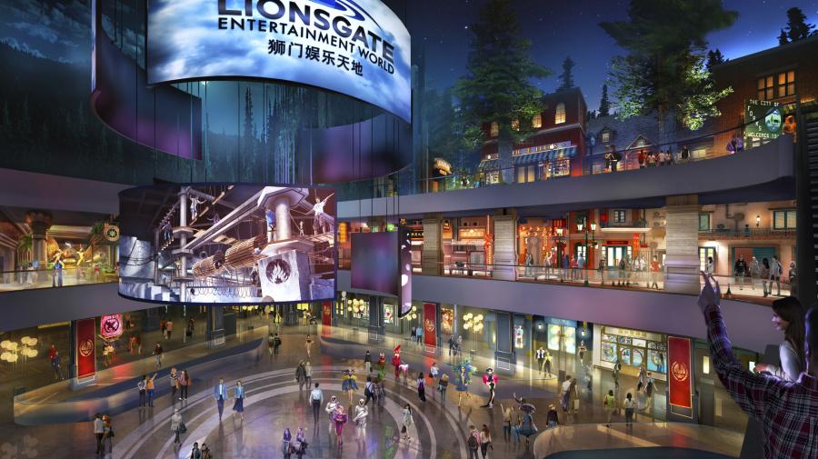 APNewsBreak: Theme park to star 'Hunger Games,' 'Twilight'