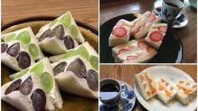 日本網民私心推介 京都超美味「水果三文治」