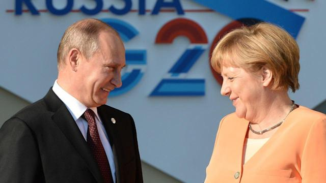 Angela Merkel Treads Softly With Kremlin on Ukraine