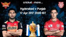 IPL 10: Hyderabad, Punjab aim to get back to winning ways