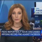 Feds reportedly have discussed imposing record fine again...