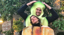 Gisele Bündchen and Tom Brady win Halloween with adorable avocado-and-toast costumes