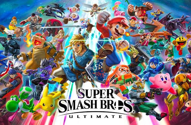 'Super Smash Bros. Ultimate' lands December 7th 2018