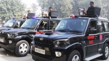 DLF Gifts Three Customized Mahindra Scorpio SUVs with LMG to Gurugram Police