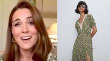 Gente como a gente! Kate Middleton usa vestido de R$ 70 em compromisso virtual