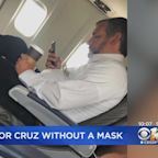Texas Sen. Ted Cruz Photographed Not Wearing Mask On Flight, Temporarily Removed It To Drink Coffee Spokesperson Says