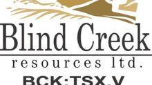 Blind Creek provides Blende Property exploration update