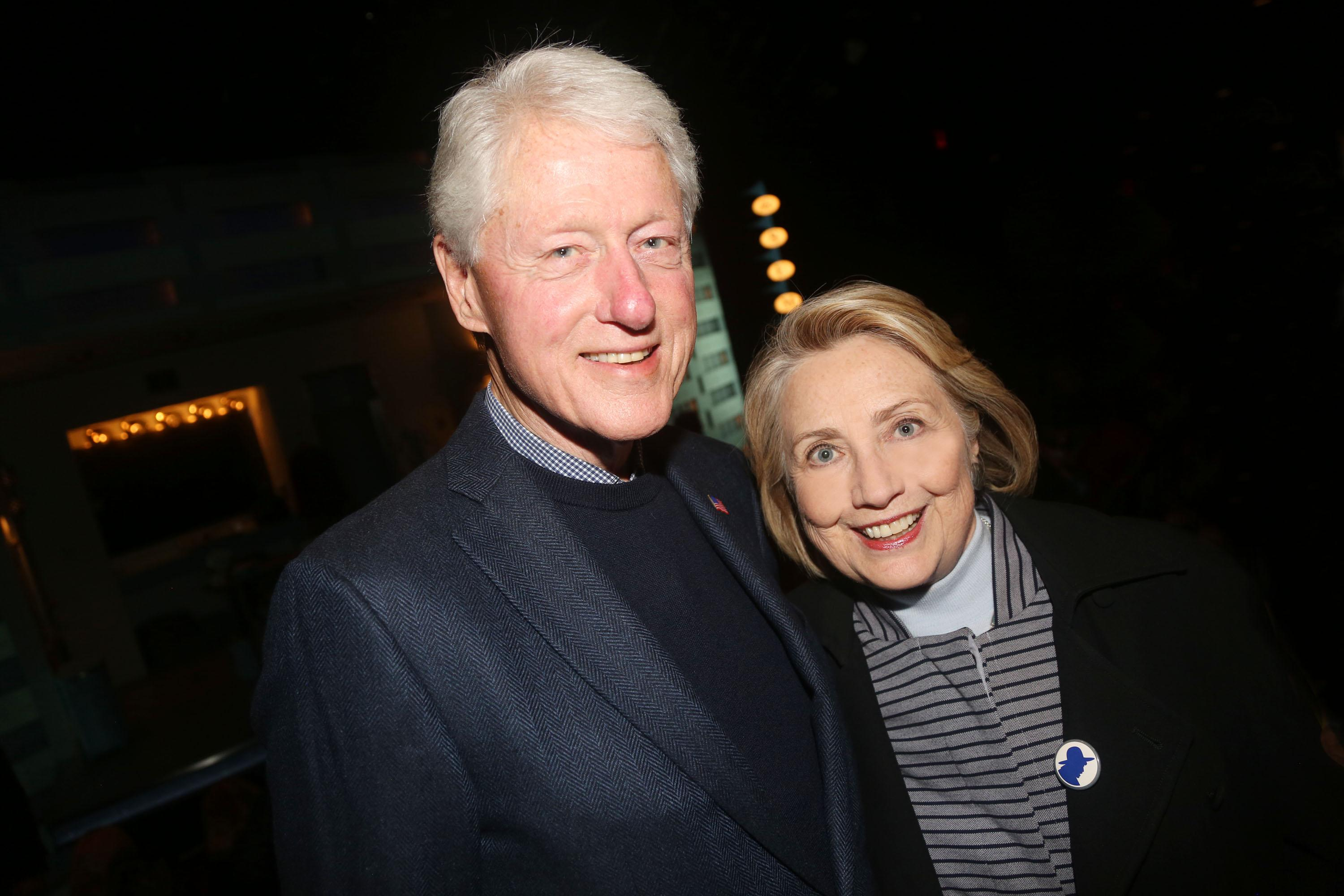 Hillary Clinton says it was 'emotionally draining' revisiting Bill's affair with Monica Lewinsky for new docuseries