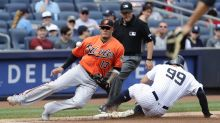 LEADING OFF: Machado, O's in Beantown after near-beaning