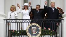 French President Emmanuel Macron visits Trump in 3-day trip to Washington