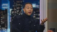 John Legend calls Trump a 'moron and a**hole'