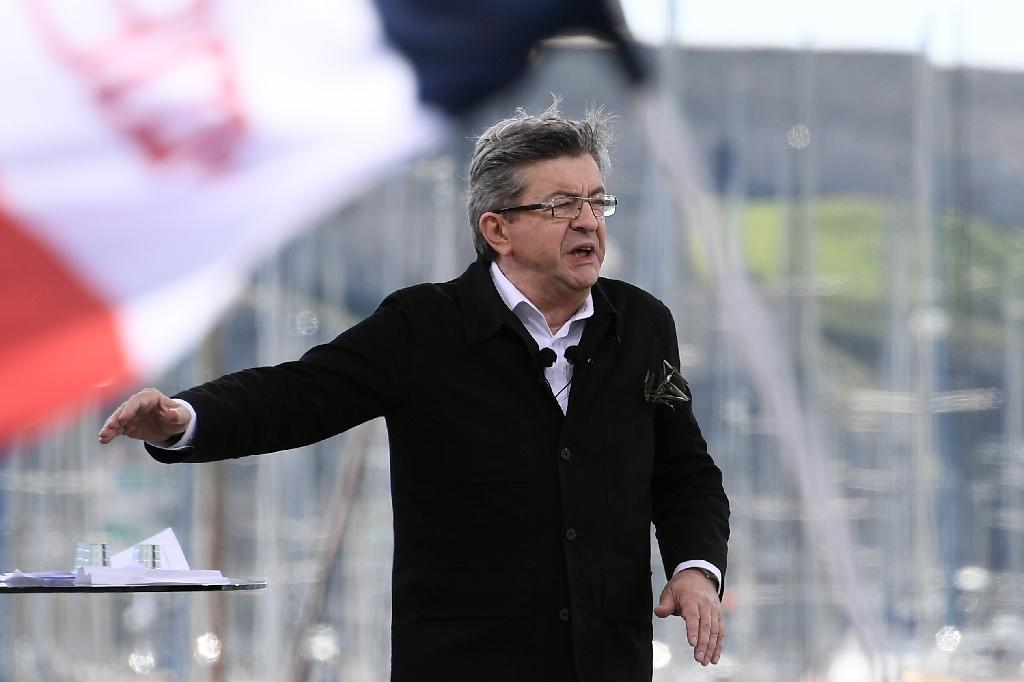 Long known for being aggressive and acid-tongued, veteran far-left candidate Jean-Luc Melenchon has toned down his rhetoric