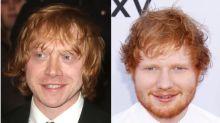 Rupert Grint keeps getting mistaken for Ed Sheeran