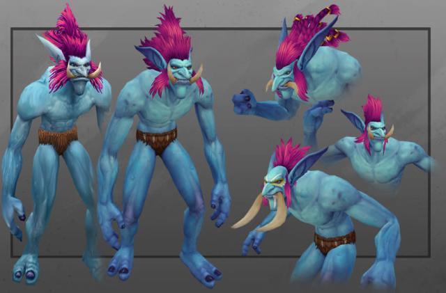 World of Warcraft spotlights Draenor's new Troll models