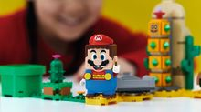 Lego Super Mario is a brick-building video game come to life