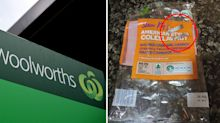 Mystery metal objects 'found in Woolworths salad'