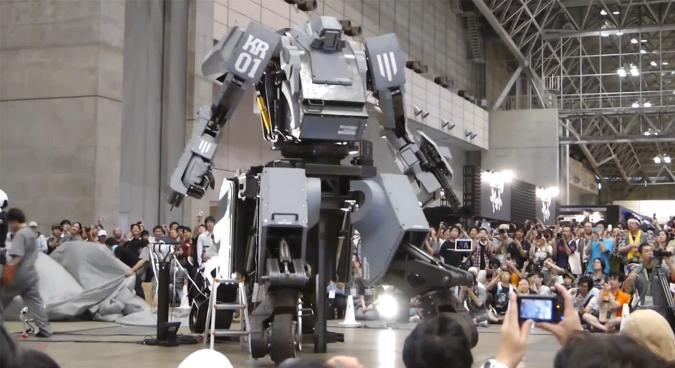 Giant Japanese robot will fistfight America's MegaBot