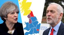 The maps that show how the Tories are taking over Labour heartlands