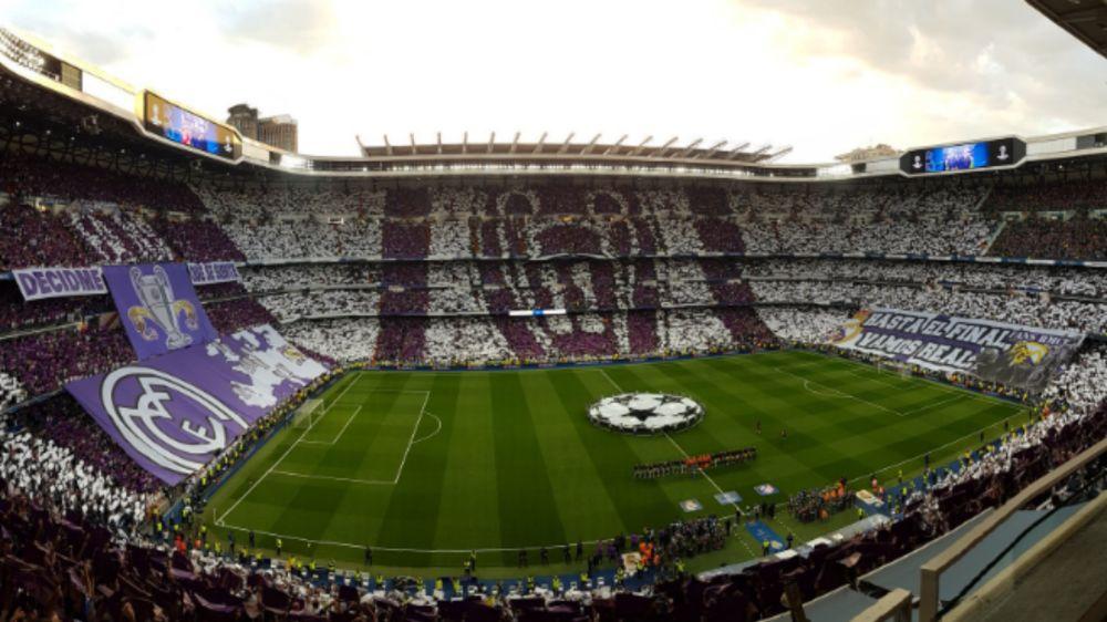 'Decidme qué se siente' - El tifo con el que el Santiago Bernabéu abre la semifinal