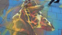 Un bestiaire sur le trottoir : la nouvelle fresque du graffeur Dan 23 donne des couleurs au centre-ville de Strasbourg