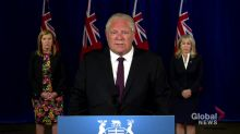 Coronavirus: Ford chides Ontarians who have used fake exemption cards to avoid wearing masks