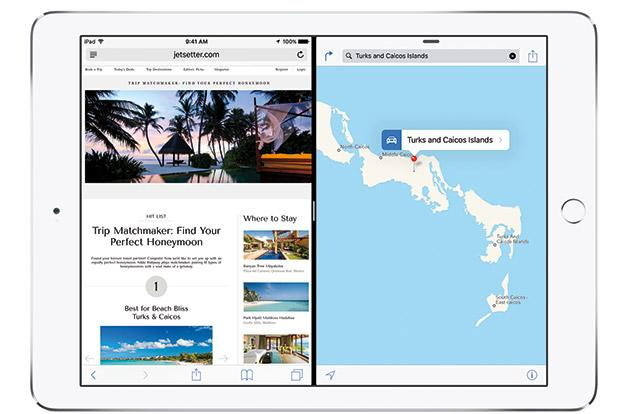 Apple brings side-by-side multitasking to the iPad in iOS 9