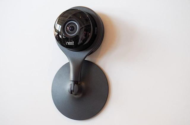 Nest's home monitoring camera is a sleeker Dropcam