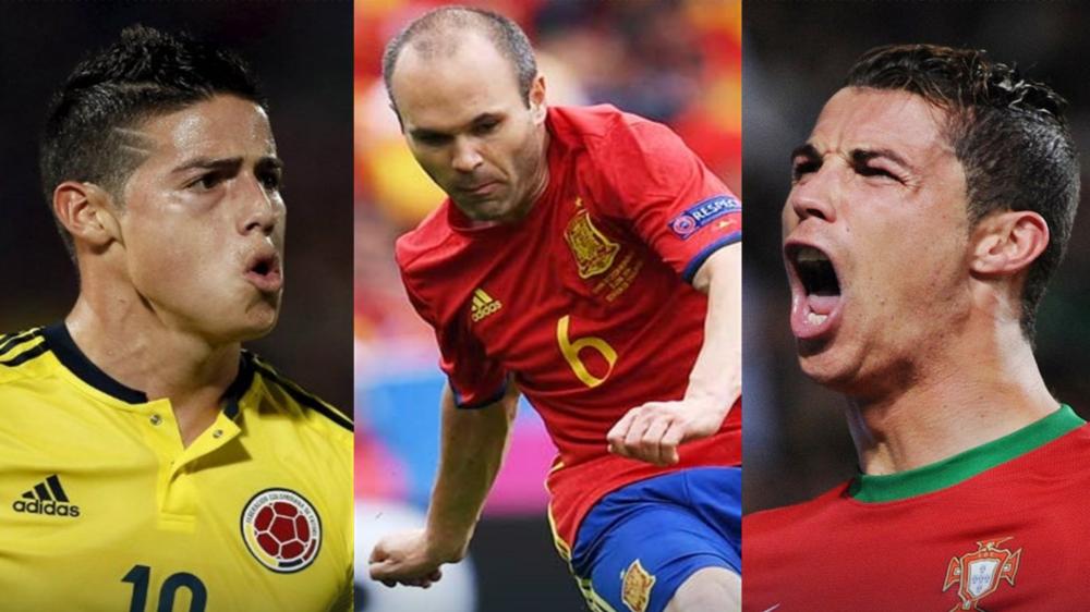 Colombia se enfrentará a España y Portugal en Junio
