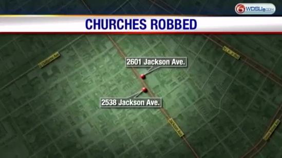 Copper thieves target churches