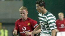 """Ex-United-Trainer Sir Alex Ferguson bettelte um Transfer von Cristiano Ronaldo: """"Können wir ihn bitte mit nach Hause nehmen?"""""""
