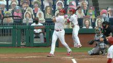 Jay Bruce's three-run home run