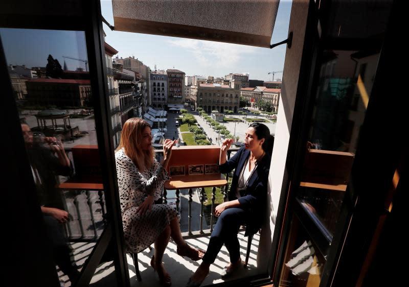"""El Hotel La Perla de Pamplona abrirá la primera """"terraza"""