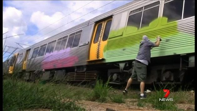 Vandals continue train graffiti attacks