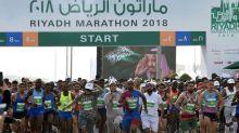 Riyadh hosts first international half-marathon